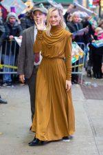 Margot Robbie In  Proenza Schouler  @ Good Morning America in New York