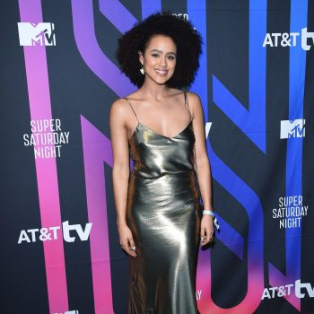 nathalie-emmanuel-in-silver-dress-att-tv-super-saturday-night-in-miami