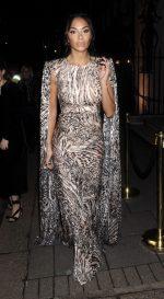 Nicole Scherzinger In Alex Perry @ 2020  BAFTA Vogue x Tiffany Fashion and Film Afterparty