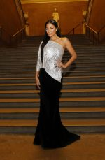 Nicole Scherzinger In One-Shoulder Gown @  Celia Kritharioti Fashion Show in London