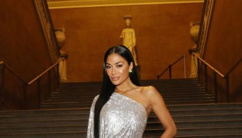 nicole-scherzinger-in-one-shoulder-gown-celia-kritharioti-fashion-show-in-london