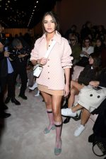 Olivia Culpo Front Row @  Fendi Fall/Winter 2020/2021 Show In Milan