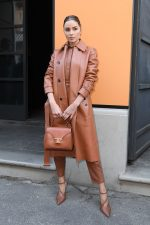 Olivia Culpo  Front Row @  Tod's Fall/Winter 2020/2021 Show In Milan