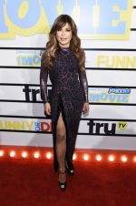 "Paula Abdul In Animal Print Dress @  ""Impractical Jokers: The Movie""  New York Screening"