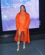 Rihanna  Attends  Fenty Launch at Bergdorf Goodman in NY