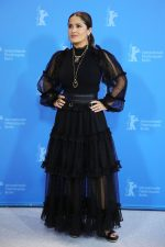 Salma Hayek  In  Gucci @  'The Roads Not Taken' Berlinale Film Festival Photocall
