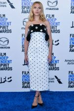 Scarlett Johansson In  Balmain  @ 2020 Film Independent Spirit Awards