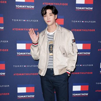 rowoon-front-row-tommynow-aw-20-london-fashion-week-show