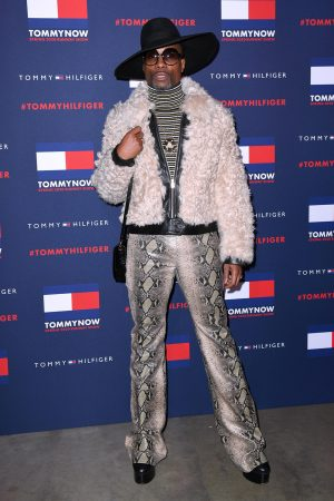 billy-porter-front-row-tommynow-aw-20-london-fashion-week-show