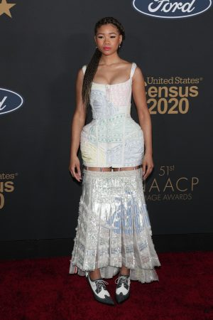storm-reid-in-thom-browne-2020-naacp-image-awards