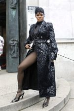 Teyana Taylor Front Row @ Thierry Mugler Fall/Winter 2020/2021 Show In Paris