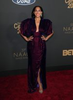Tracee Ellis Ross In Christopher John Rogers  @ 2020 NAACP Image Awards