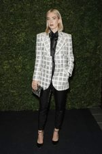 Vanessa Kirby In Chanel @   Charles Finch and Chanel Pre-BAFTA Party