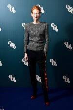 Tilda Swinton  In  Haider Ackermann  Receiving  Her BFI Fellowship Award