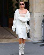 Hailey Rhode Bieber In Bottega Veneta @  In Paris
