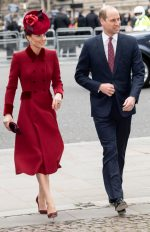 Catherine, Duchess of Cambridge In  Catherine Walker @ Commonwealth Day Service 2020