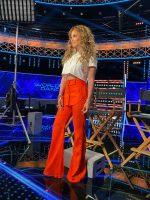 Jennifer Lopez  In Brandon Maxwell  @  'World of Dance