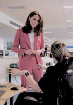 Catherine, Duchess of Cambridge In Marks & Spencer @ London Ambulance Service 111 Control Room Visit