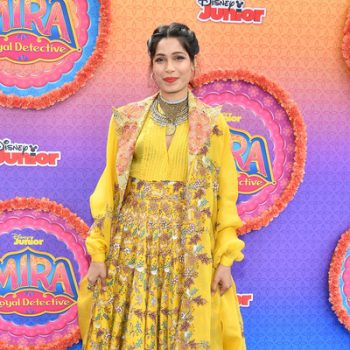 freida-pinto-in-anamika-khanna-premiere-of-disney-juniors-mira-royal-detective
