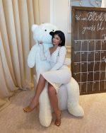 Kylie Jenner  In Bottega Veneta @  Malika's Baby Shower