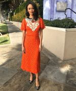 Thandie Newton In Gucci @ The 'Westworld' Season 3 Press Junket
