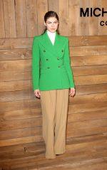 Alexandra Daddario  Front Row @ Michael Kors Collection Fall 2020