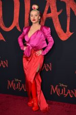 Christina Aguilera In  Galia Lahav  @  'Mulan' World Premiere