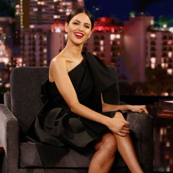 eiza-gonzalez-in-carolina-herrera-jimmy-kimmel-live