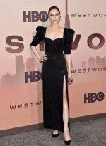 Evan Rachel Wood In  Versace @  'Westworld' Season 3 LA Premiere