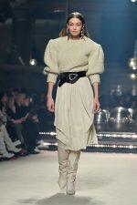 Gigi Hadid Walks Runway  @ Isabel Marant Show at Paris Fashion Week