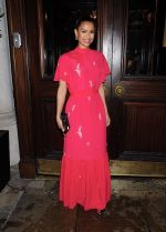 Gugu Mbatha-Raw In  Erdem @  Harper's Bazaar UK's International Women's Day Event