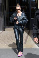 Hailey Rhode Bieber In Saks Potts  Out In Paris