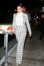Jennifer Lopez  In Chanel Leaving the San Vicente Bungalows in West Hollywood