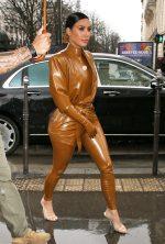 Kim Kardashian In Balmain x Atsuko Kudo  @  Kanye West's Sunday Service