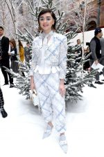 Maisie Williams  Front Row @ Thom Browne Show at Paris Fashion Week