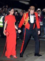 Meghan, Duchess Of Sussex  In  Safiyaa @ Mountbatten Festival Of Music At Royal Albert Hall