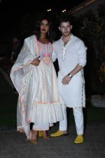 Priyanka Chopra & Nick Jonas  @  Isha Ambani's Holi Party in Mumbai
