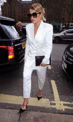 Rita Ora  In Dundas Suit @  Annabel's in London