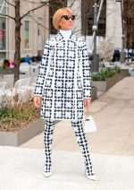 Celine Dion In  Moncler 8 Richard Quinn Out In New York