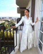 Tessa Thompson  In Christopher John Rogers @ 'Westworld' Season 3 LA Press Day