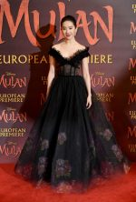 Liu Yifei  In  Elie Saab @ 'Mulan' London Premiere
