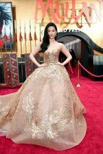 "Yifei Liu In Elie Saab Haute Couture @  ""Mulan"" World Premiere"