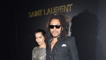 zoe-kravitz-lenny-kravitz-front-row-saint-laurent-fall-2020