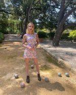 "Emma Roberts  In  Delia""s By Dolls Kill  –  Instagram Pic"