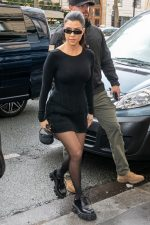 Kourtney Kardashian  @ Leaving the Pop Up Fashion Event In Paris