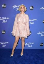 Katy Perry In Stella McCartney @ American Idol at The Hollywood Roosevelt in Los Angeles