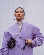 Shay Mitchell  In Mihano Momosa Blazer  – Instagram Pic
