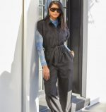 Chanel Iman  In  L'Academie Jumpsuit @ Home