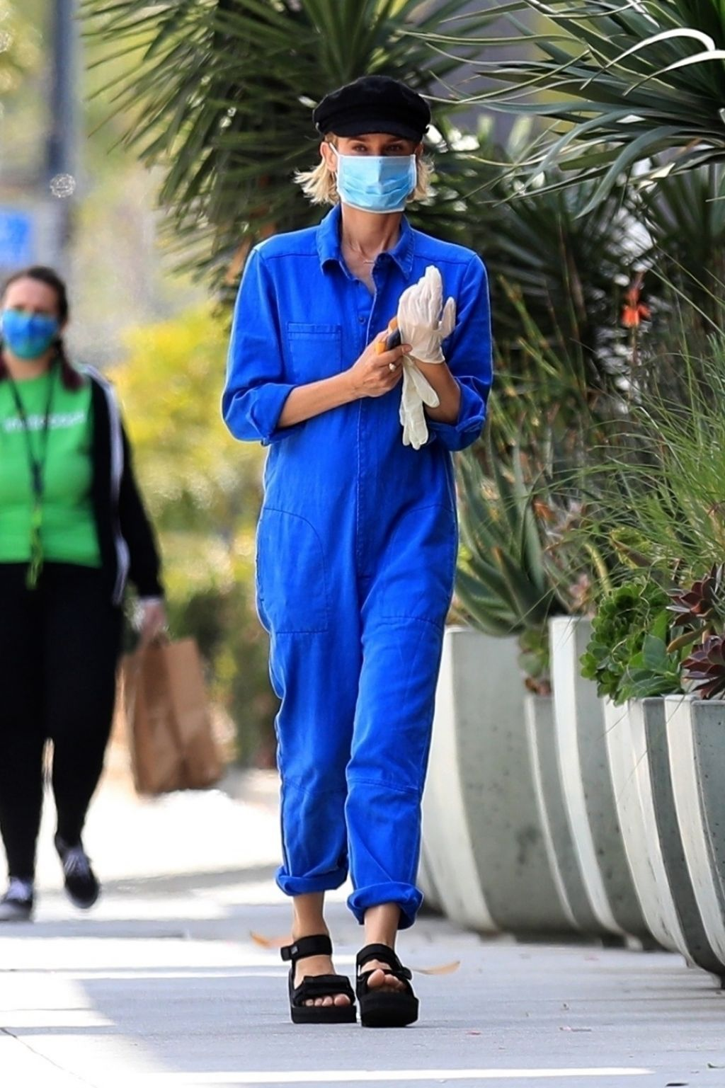 diane-kruger-rocks-jumpsuit-face-mask-out-in-la