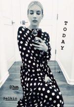 Emma Roberts  In H&M   – Quarantine Style